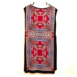 Talbots paisley dresss  P